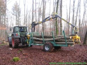 forstnerF6 mit Forstkran K300 und Forstseilwinde